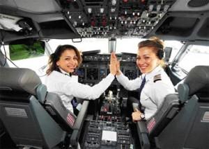 Bayan pilot performansının erkeklerle karşılaştırılması