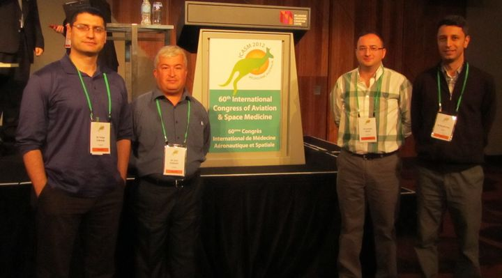 ICASM – 2012 Kongresinde ülkemiz 4 katılımcı ile temsil edildi