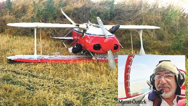Akrobasi pilotu Murat Öztürk kazada öldü