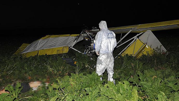 Polatlı'da amatör pilot kendi yaptığı uçakla kaza yaptı