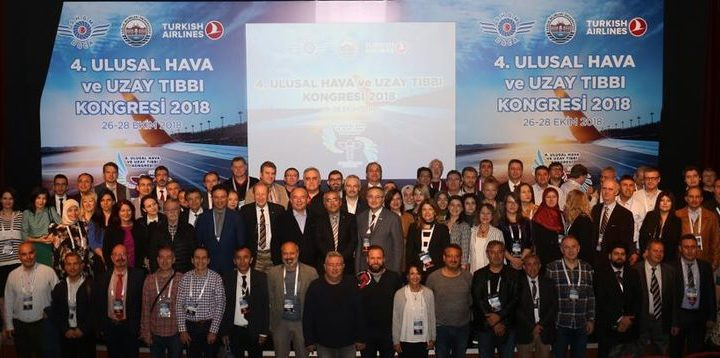4. Ulusal Hava ve Uzay Tıbbı Kongresi yapıldı.